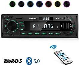 Autoradio Bluetooth Coche RDS Estéreo ieGeek, Luz de Botón