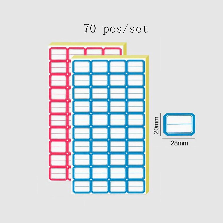 Liu Yu·Büroflächen, Bürobedarf rot rot rot und blau selbstklebende Aufkleber Etikettenpapier Etikettenaufkleber 2 Set B06XR8NFZ7 | Haben Wir Lob Von Kunden Gewonnen  80aba0