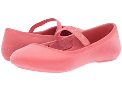 Native Kids Shoes Margot Velvet (Little Kid) (Coral Pink) Girls Shoes