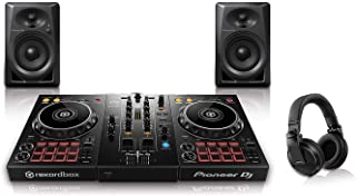 Pioneer Pro DJ Bundle with DDJ-400 + DM-40 Set + HDJ-X5 Headphones