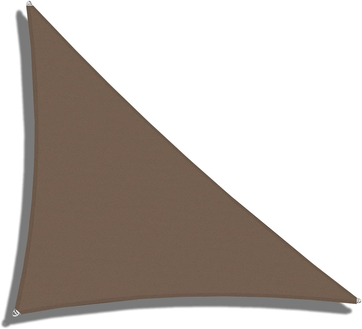 Kansas City Mall COARBOR 25' x 38' 45.5' Right Shade Wire Triangle Sun Ro Sails Low price