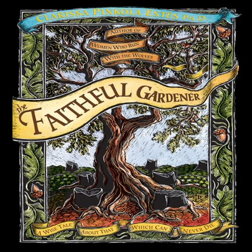 The Faithful Gardner audiobook cover art