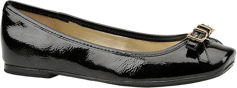 Sofft Women's Nalda Flat, Black, Size 6.5
