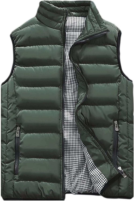 sleeveless winter vest jacket men