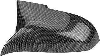 1 Pair Carbon Fiber Rearview Mirror Caps Car Wing Mirror Cover for BMW 220i 328i 420i F20 F21 F22 F30 F32 F33 F36 X1 E84