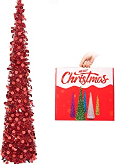 Best pop up christmas tree red Reviews