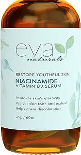 Vitamine B3 5% Niacinamide Serum door Eva Naturals (60 ml) - Niacinamide Voordelen Huid met Ongelooflijke Anti-Aging en Ve...