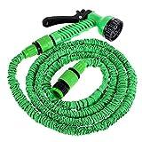 Tubo da giardino espandibile, tubo flessibile da giardino con connettore per pistola a pressione per lavaggio auto irrigazione giardino (25FT)