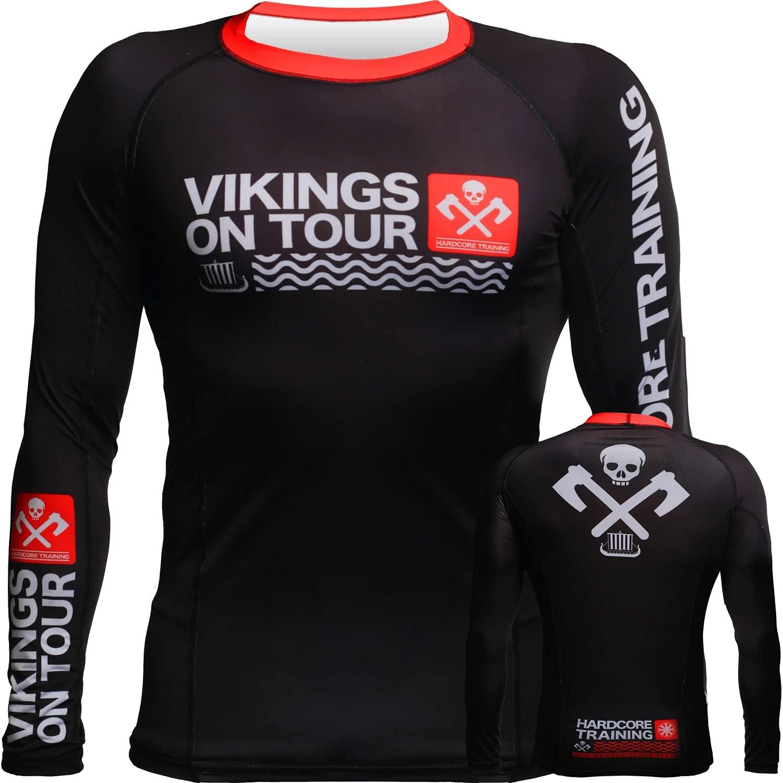 Hardcore Training Vikings New Free Shipping On Tour Guard Men's Minneapolis Mall Rash Compression L