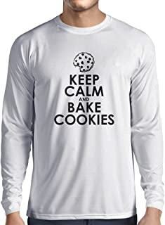 lepni.me Long Sleeve t Shirt Men Baking Cookies Clothes Cooking Gifts, Cook Shirt, Clothing