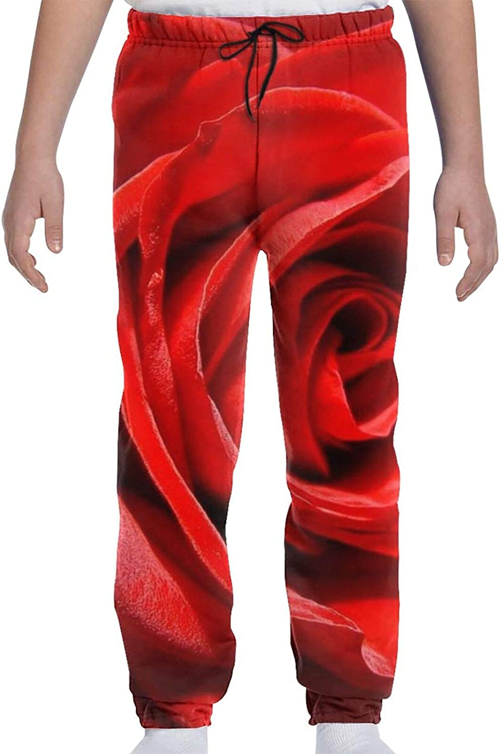 Red Heart Youth Sweatpants 3D Print Boys Teens Cheap Free shipping anywhere in the nation C Girls Trousers
