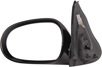 CIPA 18433 OE Replacement Electric Outside Rearview Mirror (Black) - Driver Side