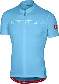 castelli 2018 Men's Prologo 5 Short Sleeve Cycling Jersey - A17019