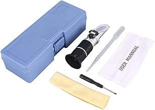 جهاز قياس محتوى جهاز قياس المحتويات من 0 – 90% بصري من السكر والمشروبات الغذائية والعصائر وأدوات قياس قياس للقياس باليد