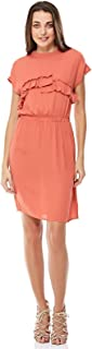 Moves Casual Straight Dress For Women - Orange 36 EU