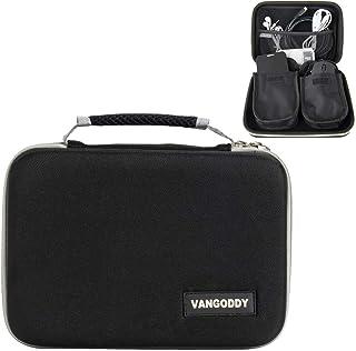 Portable Projector Hard Carrying Case Fit AAXA, Miroir, Sony, Kodak, ZOPro, Vamvo, ViewSonic, APEMAN, Grey, Black