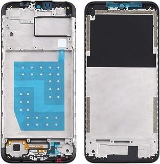 Mobile Phones Communication Accessories Front Housing LCD Frame Bezel Plate for Motorola Moto G8 Power Lite (Color : Black)