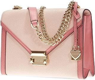 Whitney Large Flap Shoulder Bag- Soft Pink/Multi