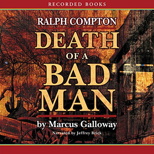 Death of a Bad Man audiobook cover art