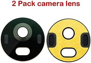 2 Pack Back Rear Camera Lens Replacement with Adhesive for Motorola Moto G5 Plus XT1680 XT1681 XT1684 XT1685 XT1687