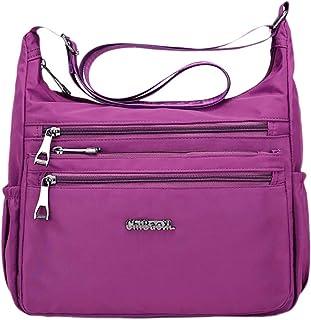 FITYLE Women Crossbody Shoulder Bag Water Resistant Lightweight Handbag with Pockets
