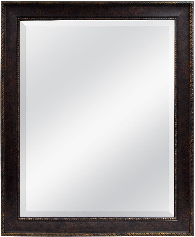 MCS 22 von 71 cm Abgeschrägte Spiegel, 28 von 86,4, Seil Finish, Bronze B00PXMXUAM | Online-verkauf