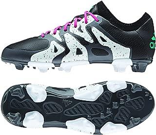 Adidas Soccer Cleats Size 6 - X 15.1 FG/AG Junior, Black/Mint/White