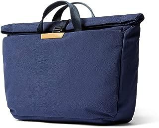 "Bellroy System Work Bag, Water-Resistant Woven Messenger Bag (15"" Laptop, Tablet, Notes, Cables, Drink Bottle, Everyday Essentials) - Ink Blue"