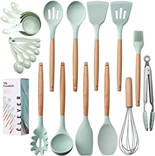 Kitchen Utensils Set - 20 Silicone Cooking Utensils for...