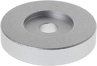 "Jilin Record Turntable Adapter 45 RPM Aluminum Silver for 7"" Vinyl Technics SL1200 Series"