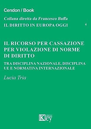 Il ricorso per cassazione per violazione di norme di diritto: Tra disciplina nazionale, disciplina UE e normativa internazionale (Il diritto in Europa oggi Vol. 4)