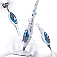 Steam Mop Cleaner 10-in-1 with Convenient Detachable Handheld Unit,..