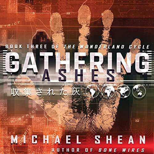 Gathering Ashes audiobook cover art