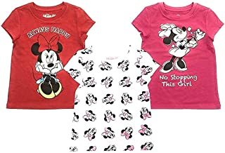 Disney Junior Minnie Mouse Little Girl's 3-Pack Tees