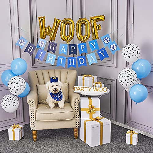 PartyWoo Dog Birthday Party Supp...