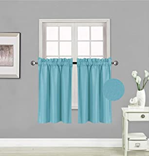 Best slate blue window curtains Reviews
