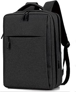 GLJ Business Backpack Simple Computer Bag Travel Bag Backpack (Color : Black)