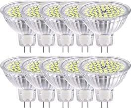 SGJFZD YWX GU5.3 MR16 LED Light Bulbs Nature Daylight White 4000K 5W (Replace 50W Halogen) LED Spot Light Track Lighting A...