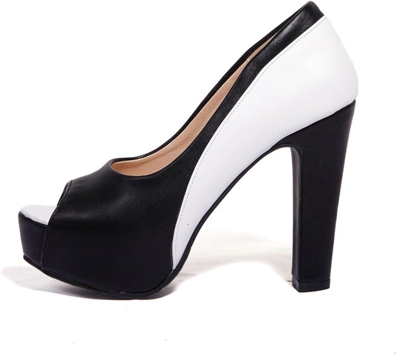 Carlos Foushee New Brand Fashion Women Pumps Peep Toe Platform shoes 10 cm High Heels Party Wedding shoes Woman Sexy Lady shoes