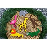 RM-International-1824-Safari-Animal-Cookie-Cutters-Lion-Elephant-Monkey-Alligator-Flamingo-Giraffe-6-Piece-Set
