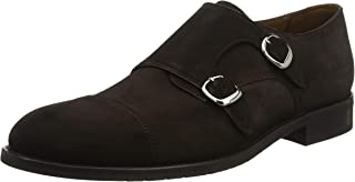 Lottusse L6964, Zapatos Doble Hebilla Hombre
