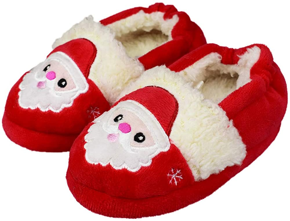 Tirzrro Max 90% OFF Daily bargain sale Little Kids Girls Soft Warm Toddler Indoor Cute Slippers