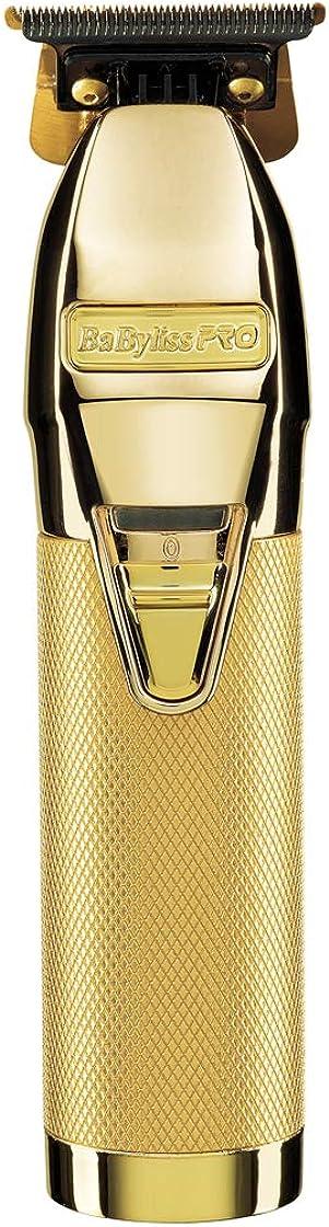 Tagliacapelli professionale babyliss skeleton gold trimmer, oro, standard FX7870GE