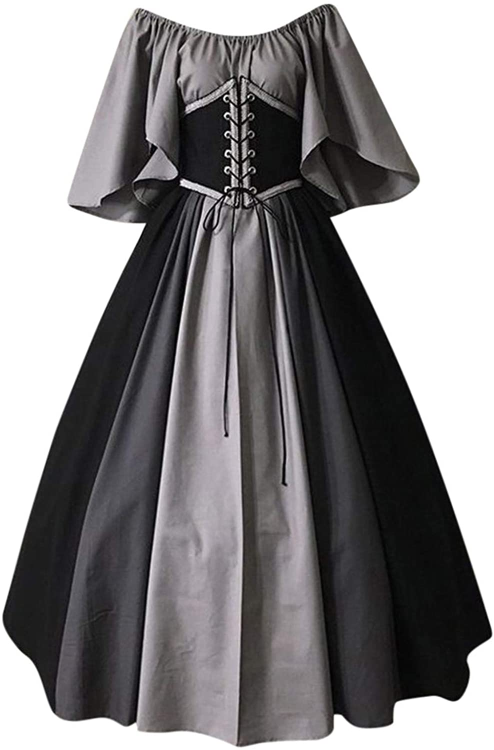 Women's Vintage 67% OFF of fixed price Renaissance Medieval Cosplay Gothic shopping Prom Elegent