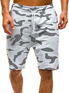 cc429ecd295c0a Seaintheson Men's Cargo Short, Men Summer Relaxed Fit Shorts Casual  Camouflage Pants Sport Gym Workout