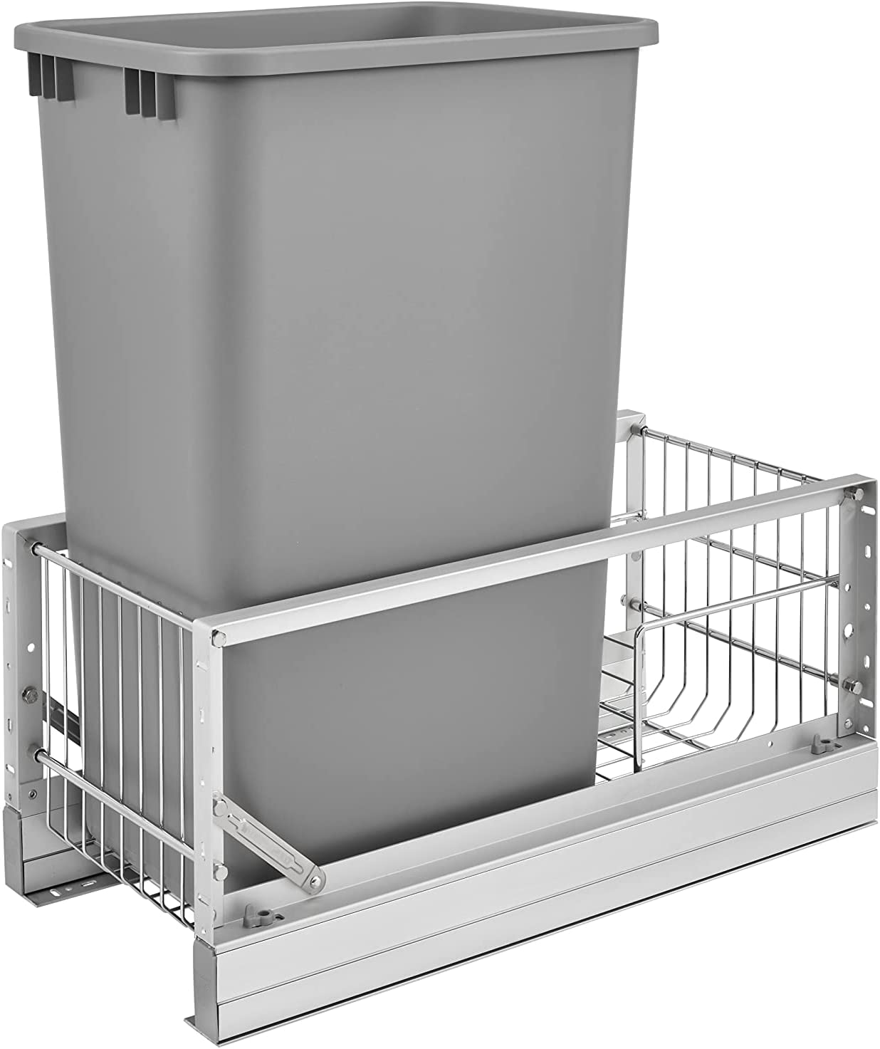 Lowest price challenge Rev-A-Shelf - outlet 5349-1550DM-117 Single 50 A Brushed Pull-Out Qt.