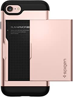 Spigen Slim Armor CS Designed for Apple iPhone 8 Case (2017) / Designed for iPhone 7 Case (2016) - Rose Gold