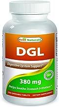 Best Naturals DGL Chewable 380 mg 180 Tablets