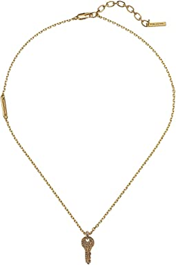 Marc Jacobs - Respect Short Key Necklace
