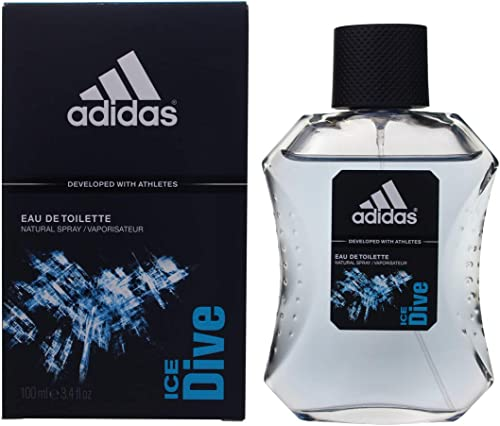Adidas - Eau de Toilette pour Homme Ice Dive - Rafraichissant - 100 ml